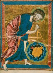 God the Geometer, Created circa 1220-1230. Anonymous.
